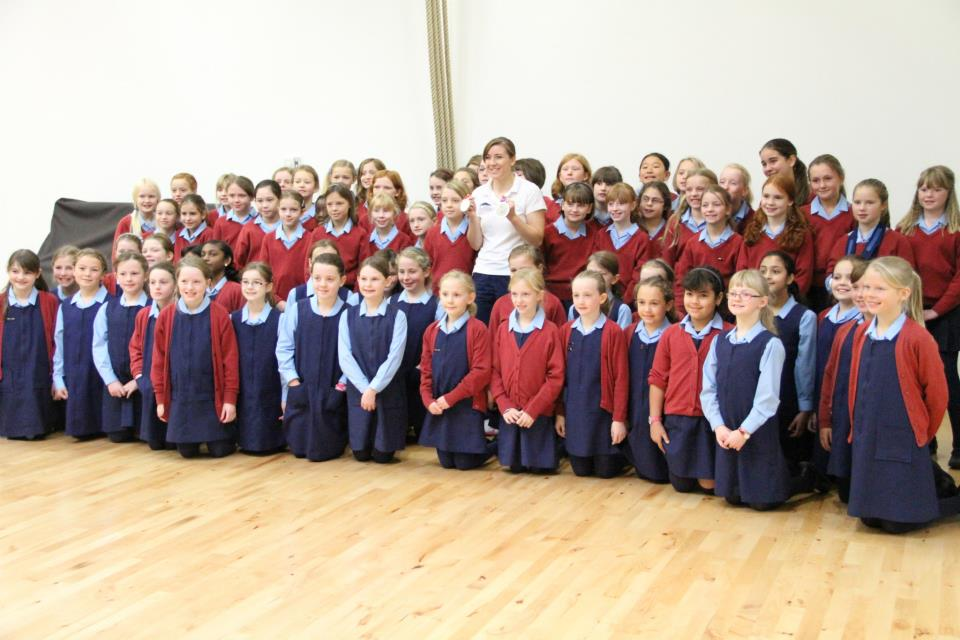 paralympic hero libby clegg takes time to inspire next