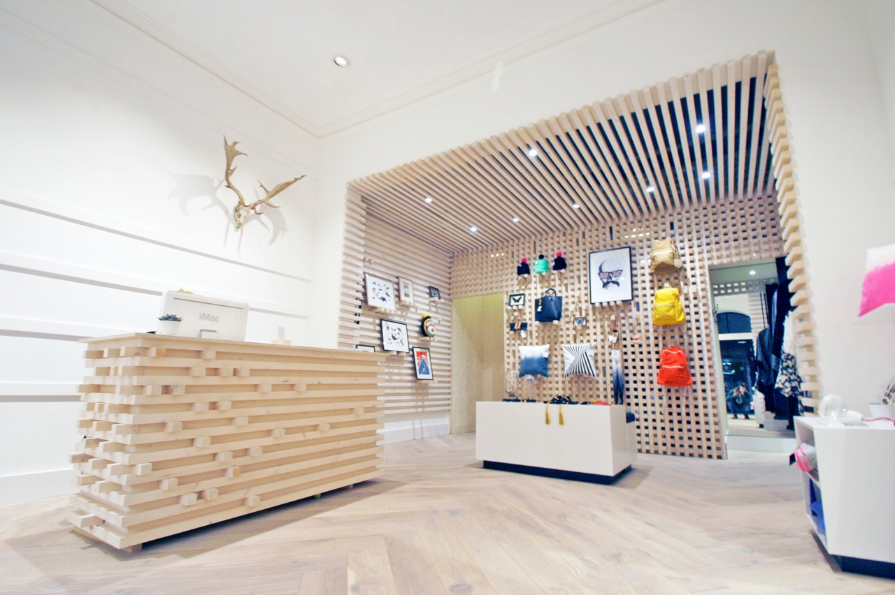 Discover the storeys behind the new lifestyle shop in for Swedish design shop