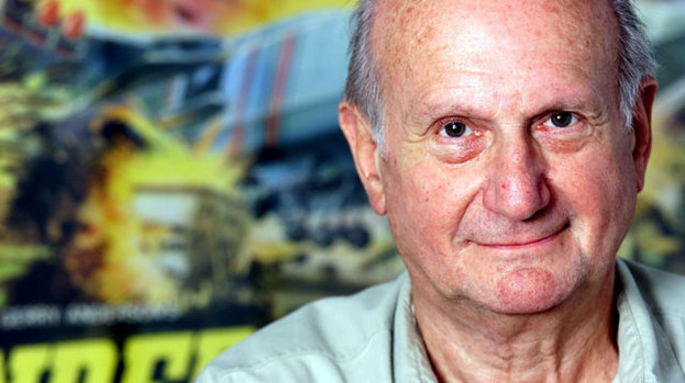 Rest in peace gerry anderson when he was in better health back in