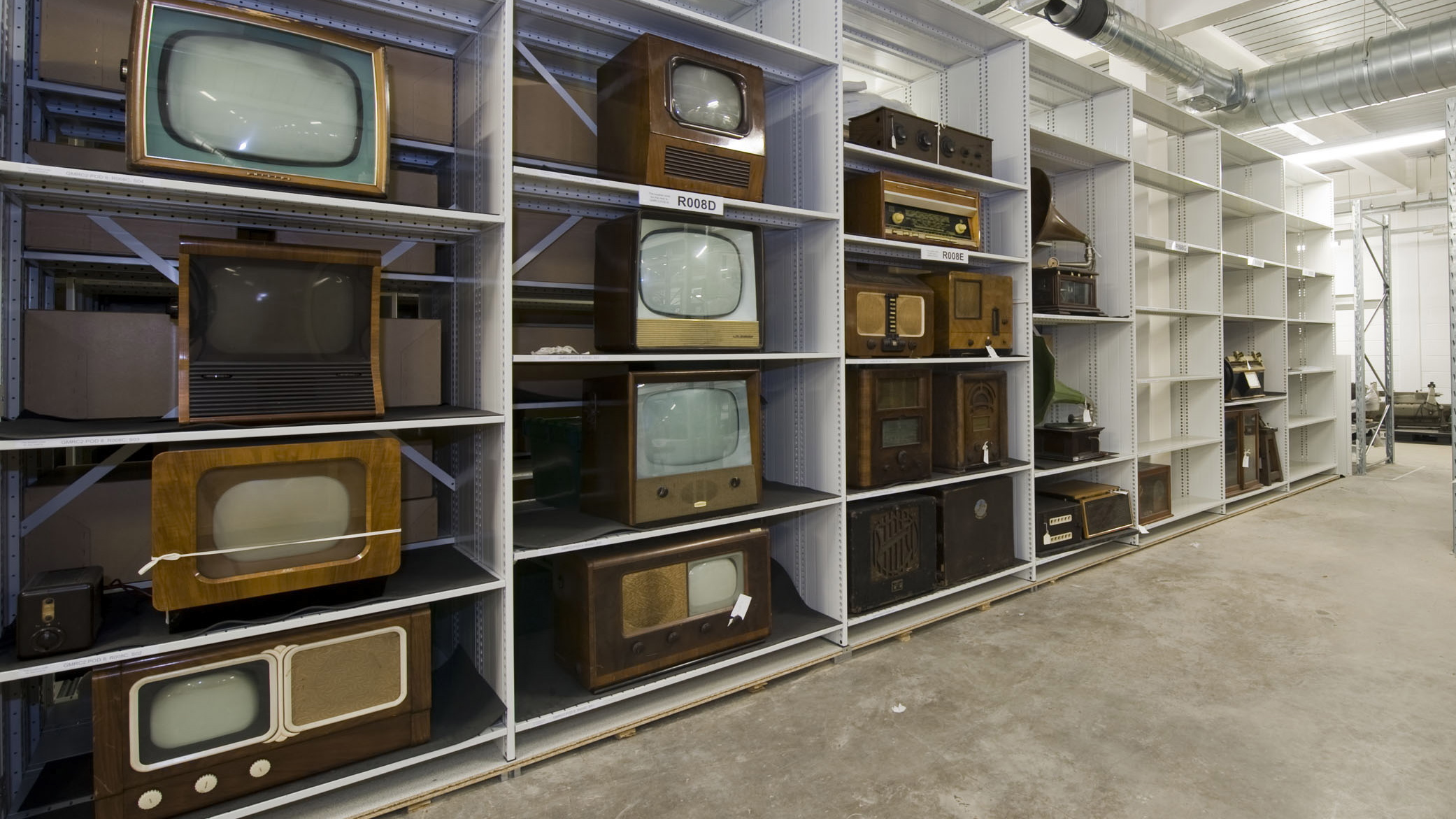 TVs in Glasgow Museums