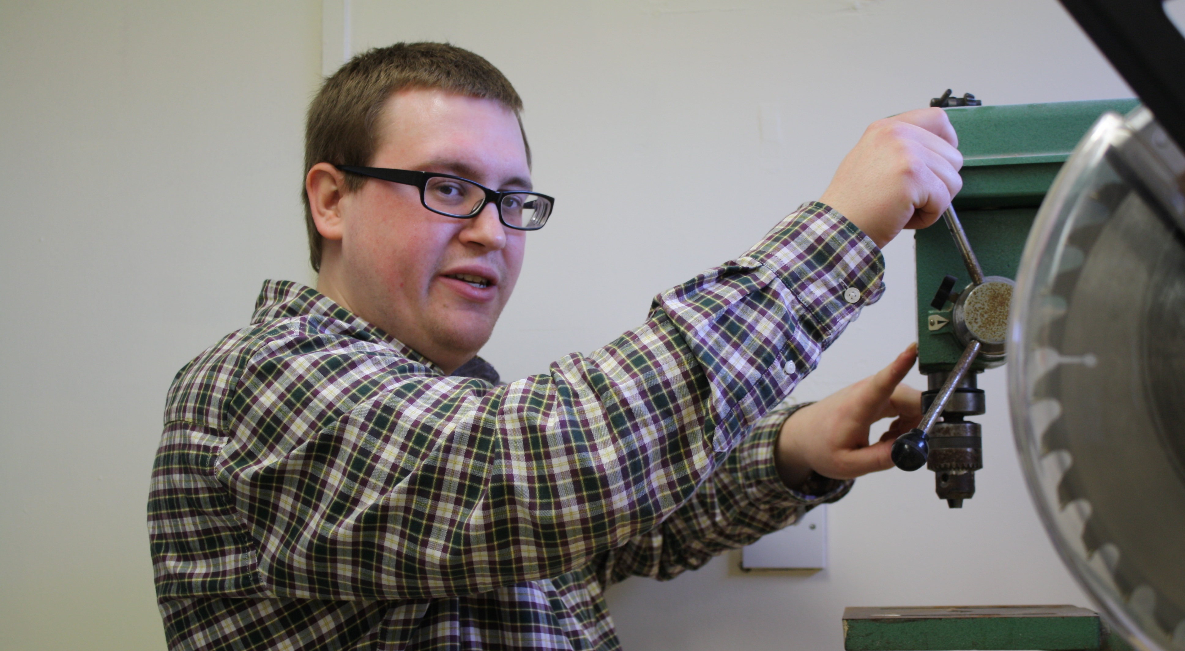 Westhill Men's Shed PHD student