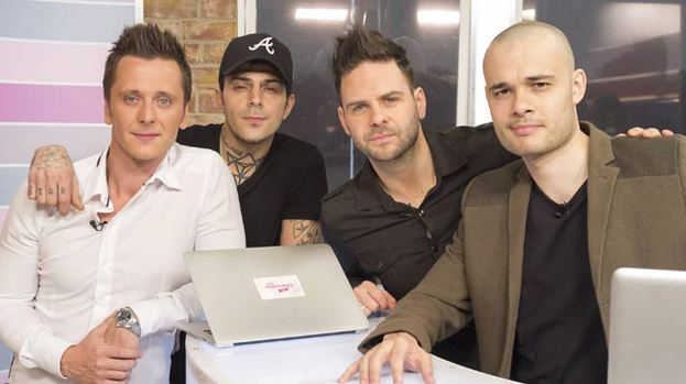 Abz Love 5Ive http://entertainment.stv.tv/showbiz/219538-5ive-think-one-direction-need-help-to-deal-with-fame/