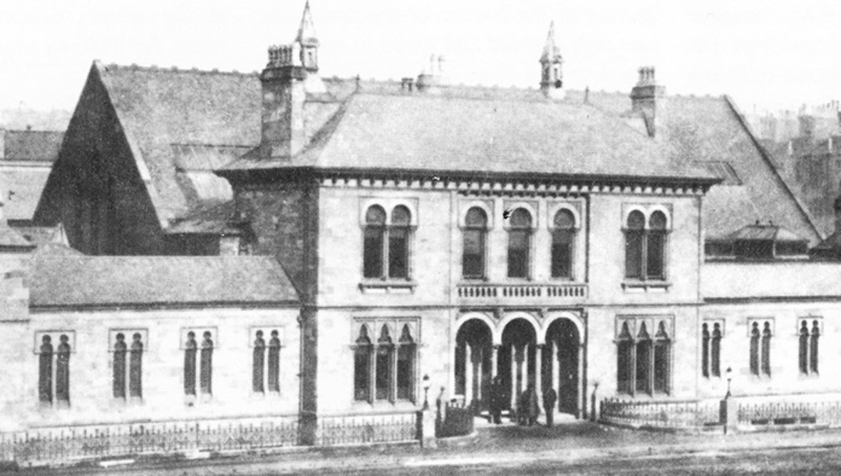 The Western Baths when it first opened