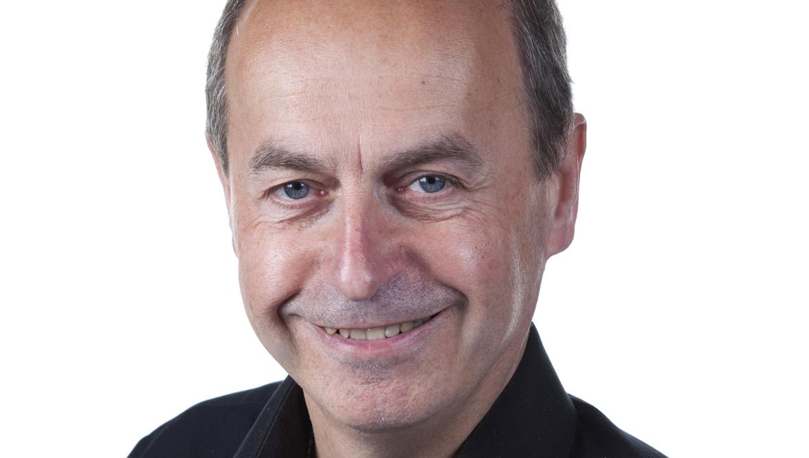 Author Nick Oswald