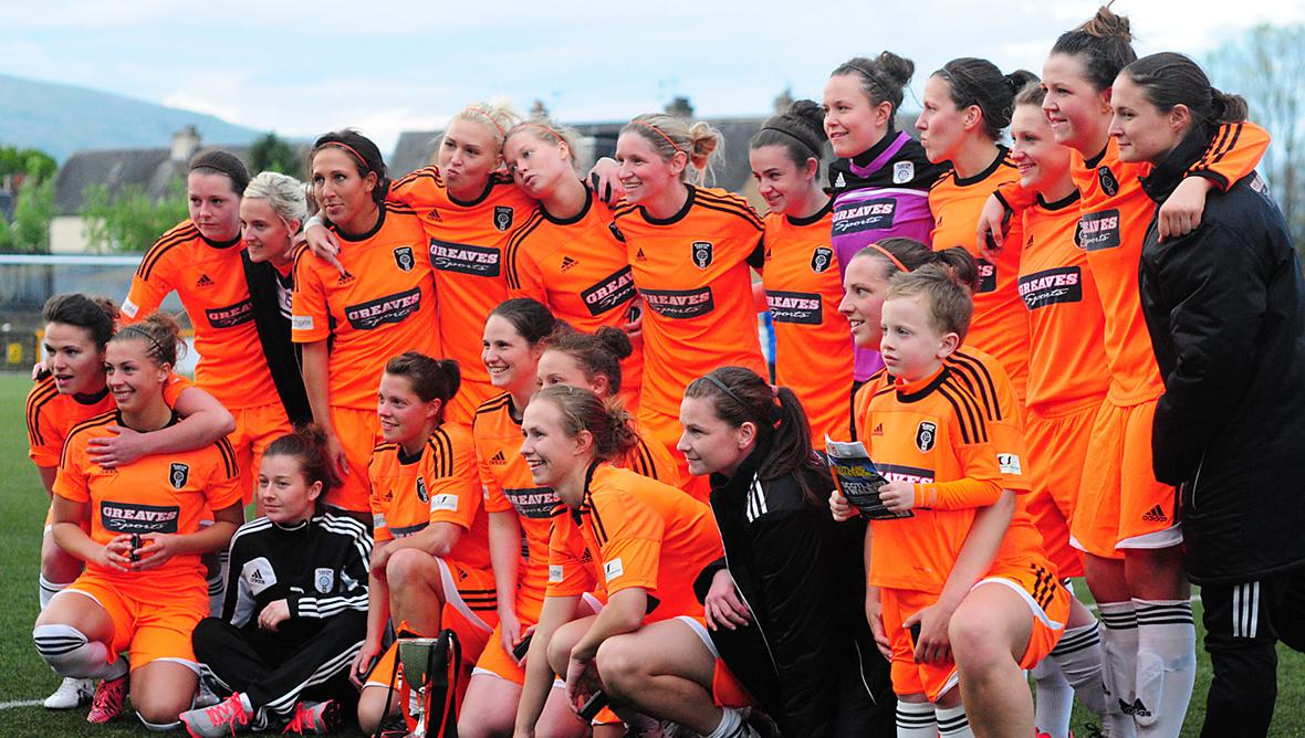 Glasgow City FC lift the 2013 League Cup