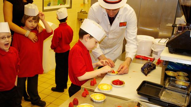Greenburn School visit Sainsbury s Kingsgate Bakery ...