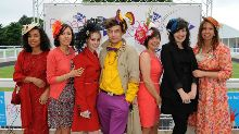 Bright and colourful at the Races