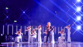 X Factor Final: Louisa Sings It's a Man's Man's Man's World